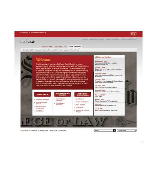 usc gould school of law personal statement